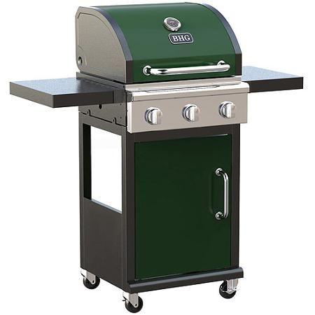 Patio Garden Build Outdoor Kitchen 3 Burner Gas Grill Gas Grill