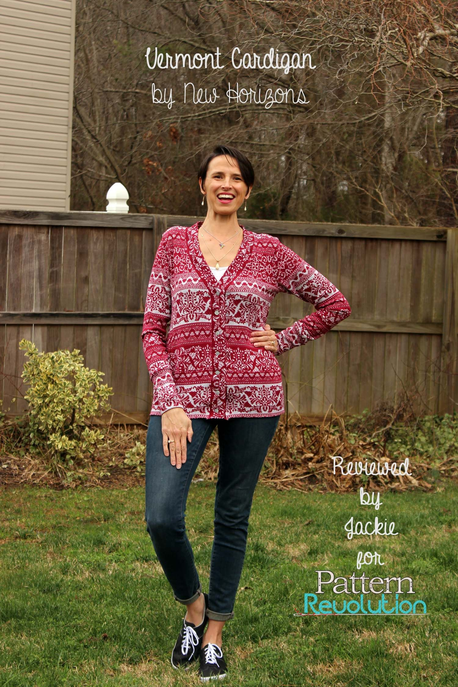 The Vermont Cardigan From New Horizons Patterns With Images Pattern Pdf Sewing Patterns Cardigan
