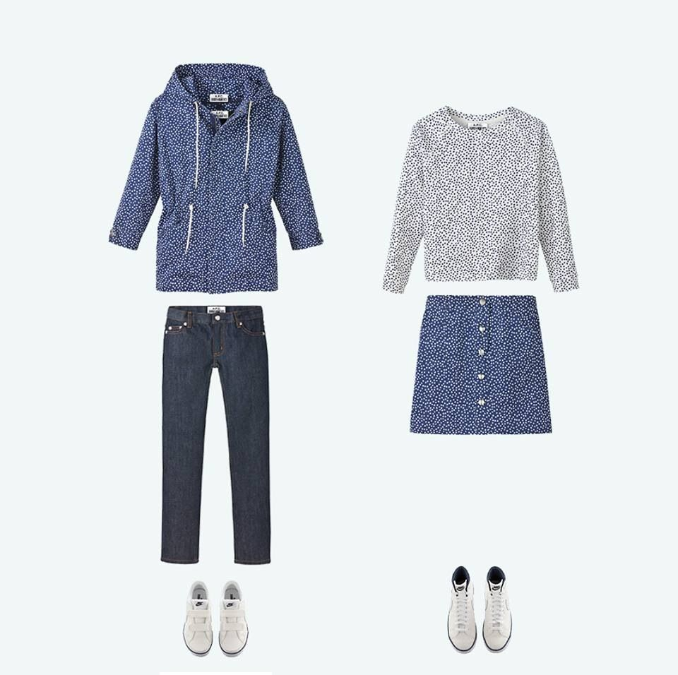 Matching style! From A.P.C