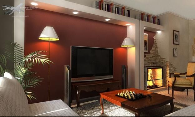 Accent Wall Paint Ideas For Living Room 3 Piece Leather Set Modern Bright Colors To Update Rooms And Add Cheerful Look Painting