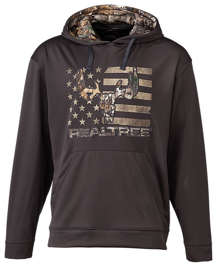 Buckhorn River Skull and Flag Hoodie for Men | Bass Pro Shops: The Best Hunting, Fishing, Camping & Outdoor Gear