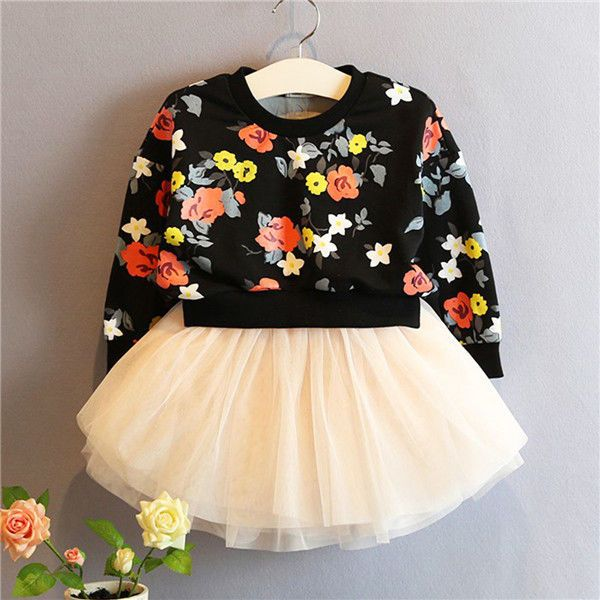 Cinderella Couture Baby Girls Pink White Polka Dot Belted: US Stock Kids Baby Girl Sweater Coat Tops T-Shirt +Skirt