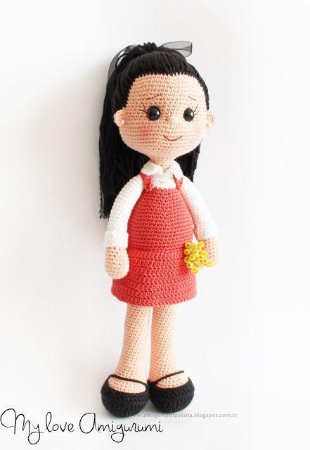 Amigurumi Aşkına: Pûrnem Amigu (With images) | Knitted dolls ... | 640x441