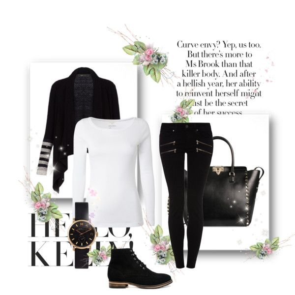 catwalk by kontrynasu on Polyvore featuring White Stuff, BCBGMAXAZRIA, Paige Denim, ASOS, Valentino, MARC BY MARC JACOBS and Hello Kitty
