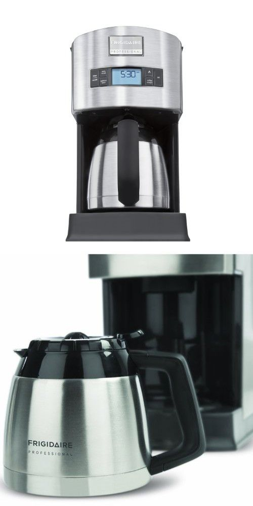 Frigidaire Professional Stainless 10 Cup Thermal Carafe Coffee Maker Frigidaire Professional Thermal Coffee Maker Coffee Maker