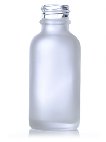 Placecard Alternative Frosted Version 1 Oz Clear Frosted Glass Boston Round Bottle 20 400 Glass Boston Rounds Glass Bottles Wholesale Bottle Glass Containers