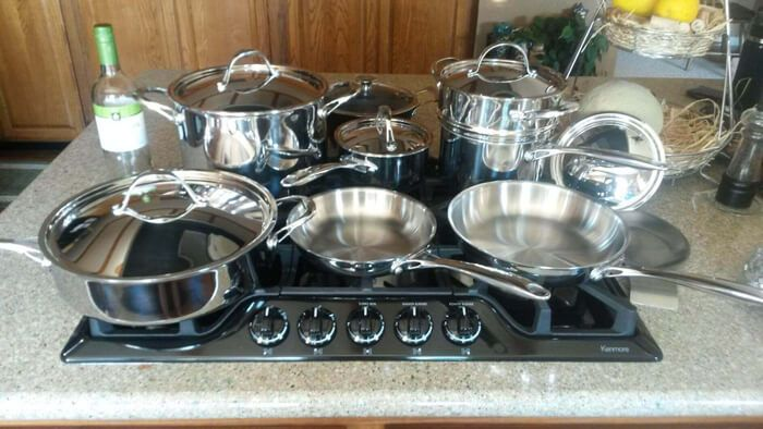 Top Post 2017 Best Stainless Steel Cookware Ing Guide Reviews Affordable Kitchen And