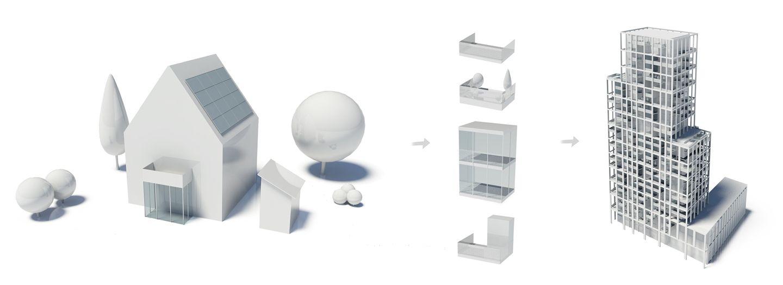 Visuals - Tower Striga 1 - Projects - KCAP