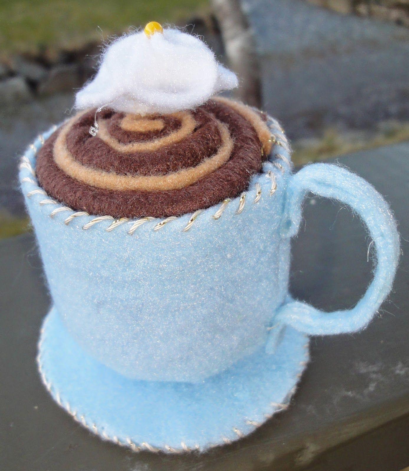 Den syende himmel: En kopp sjokolade med krem