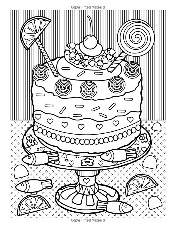 Amazon Com Mir Konfety Knizhka Raskraska 24 Milaya Raskraski 9781523869411 Kejts Deni Knigi Coloring Books Coloring Pages Food Coloring Pages