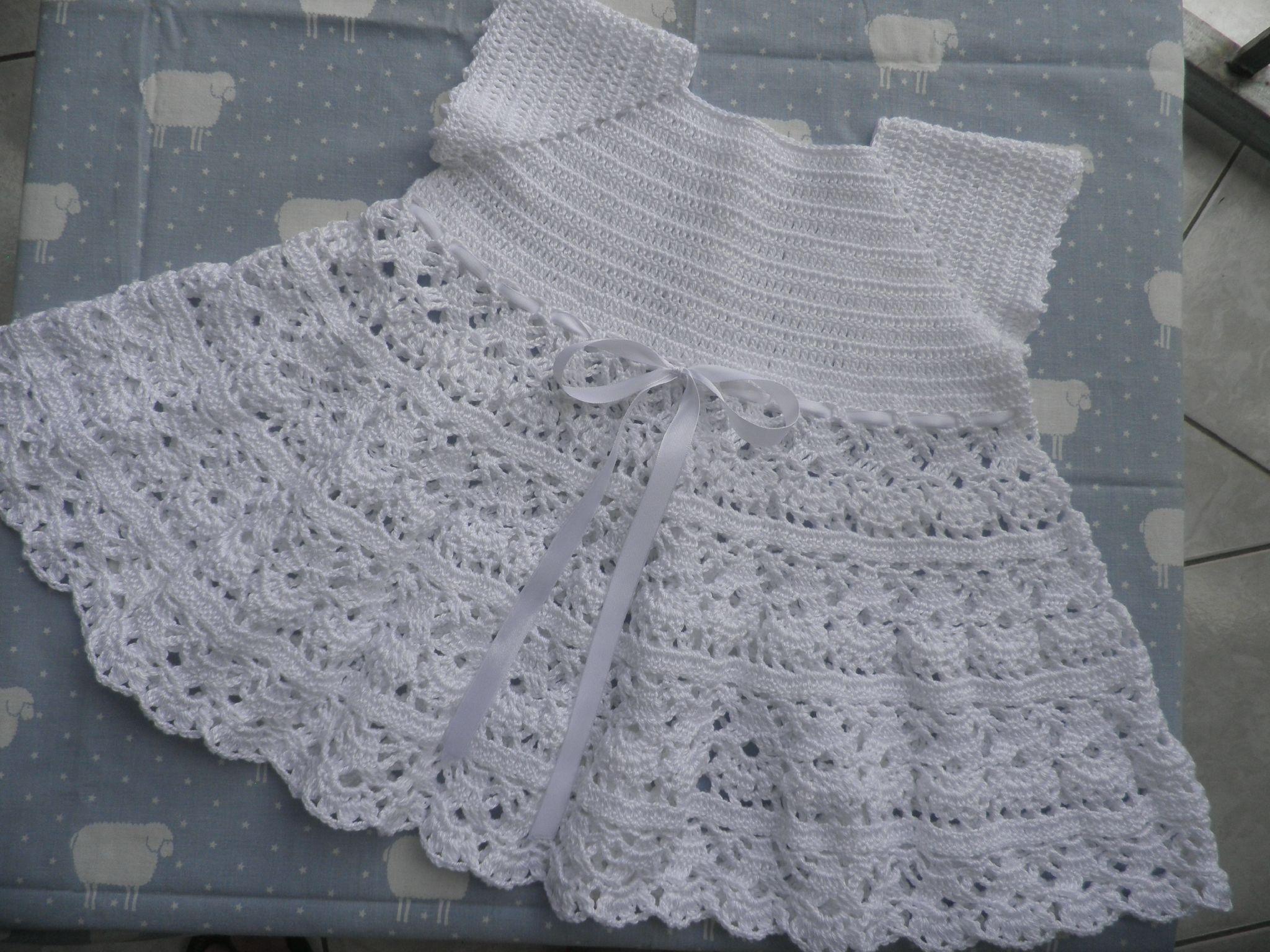 Ma nouvelle petite robe au crochet Daisy passion crochet
