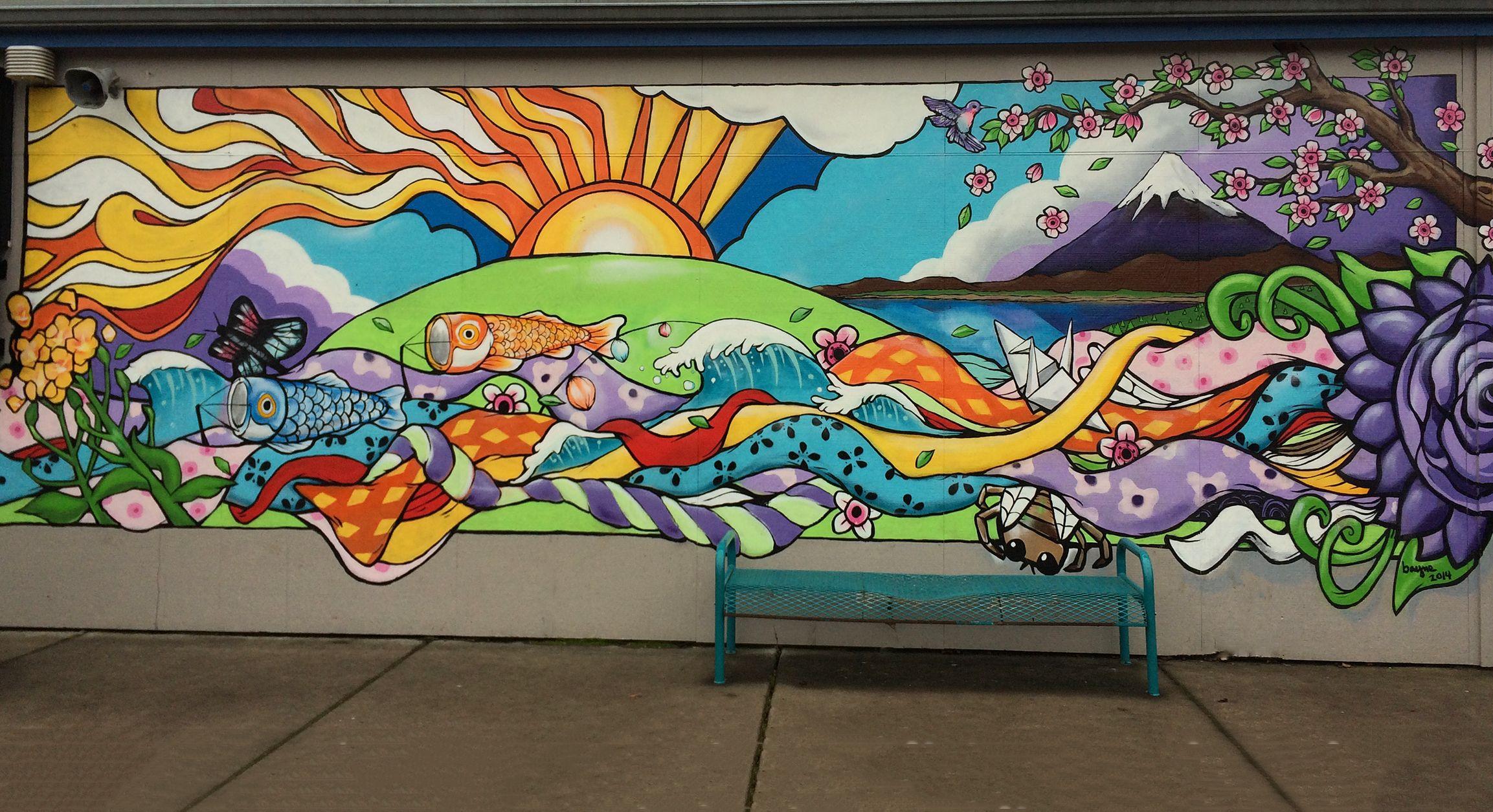 elementary school mural google search mural ideas in 2018