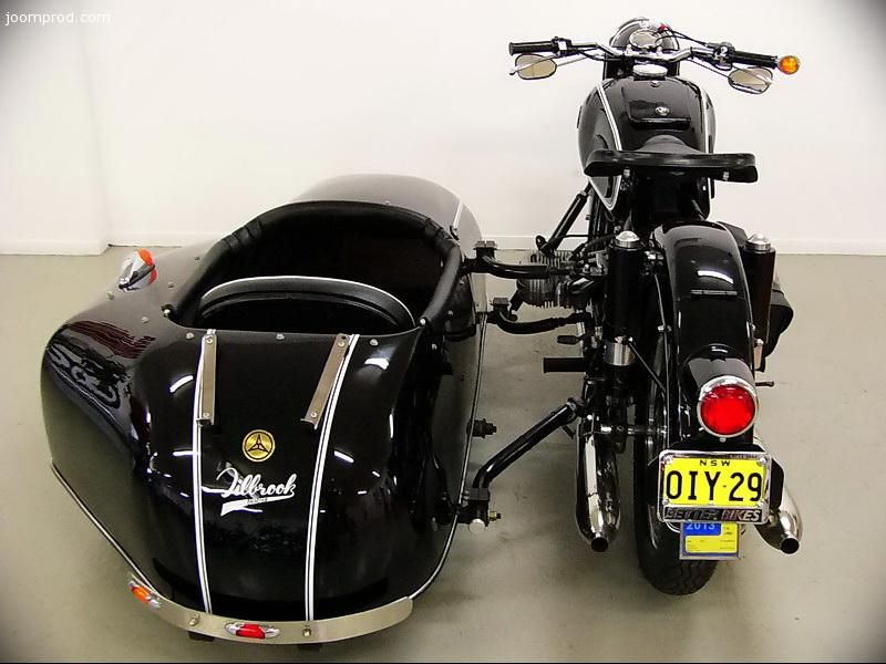 1966 bmw r60/2 with steib s500 sidecar | no harleys | pinterest
