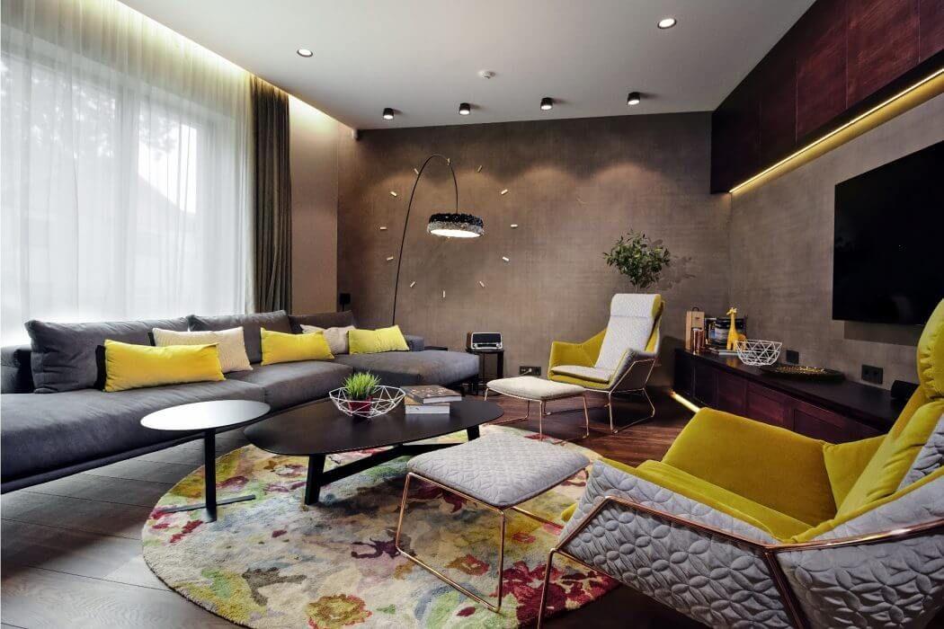 7 fotos de decoración de salones modernos   Decoracion de salones ...