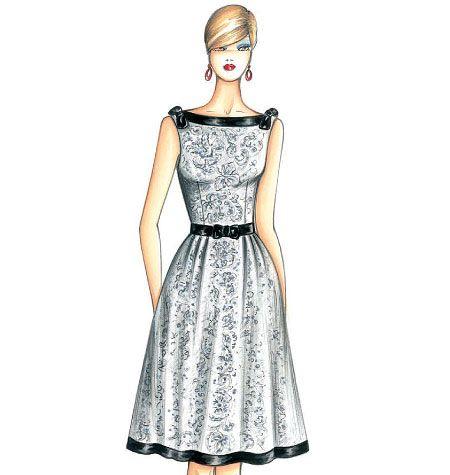 F3453 | Marfy Dress | New Designs | Shops@McCall