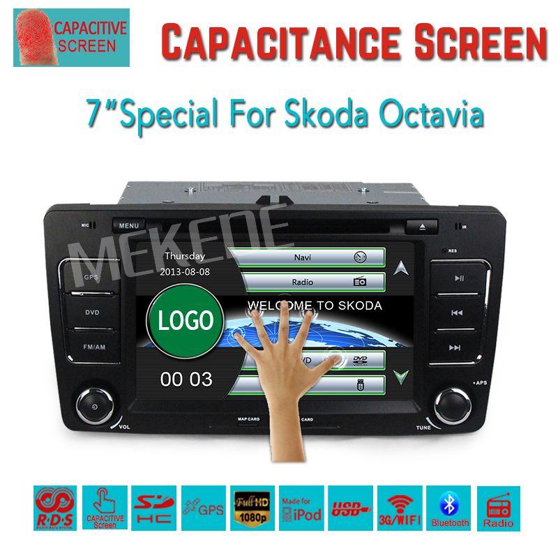Car Dvd Player In Dash System For Skoda Octavia Superb Yeti Fabia