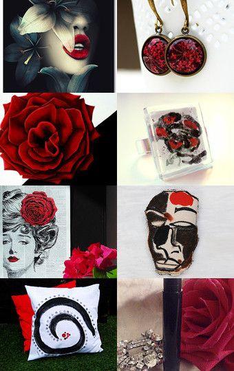 Las Flores de la Pasión by Kavekanem on Etsy--Pinned with TreasuryPin.com