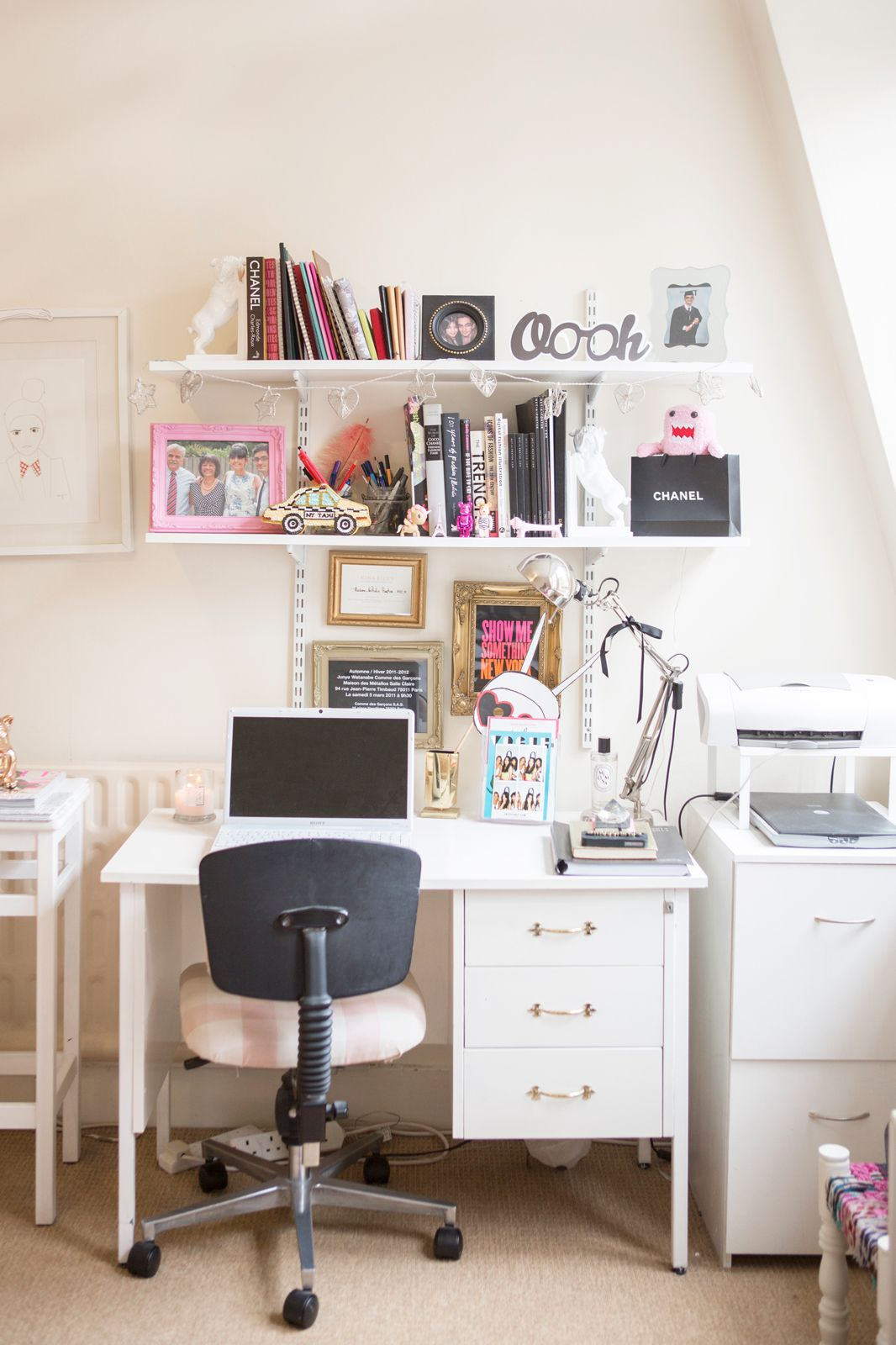 Home Office Ideas - Best Styling, Organization Tips | Spaces, Office ...