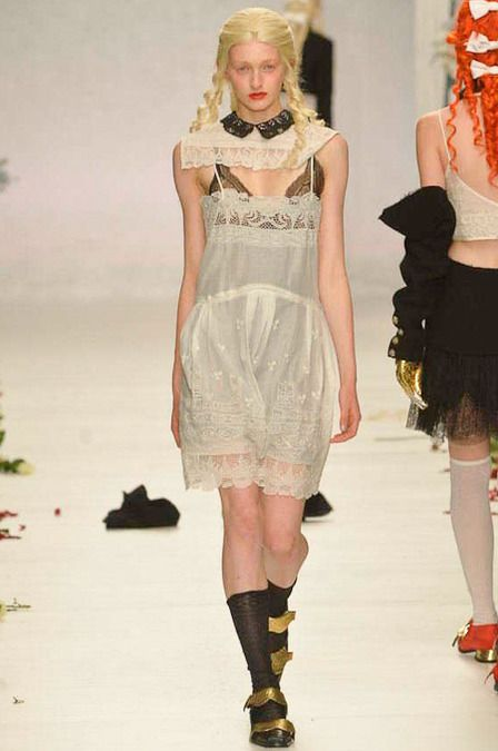 Meadham Kirchhoff Spring 2014 Ready-to-Wear Collection Slideshow on Style.com