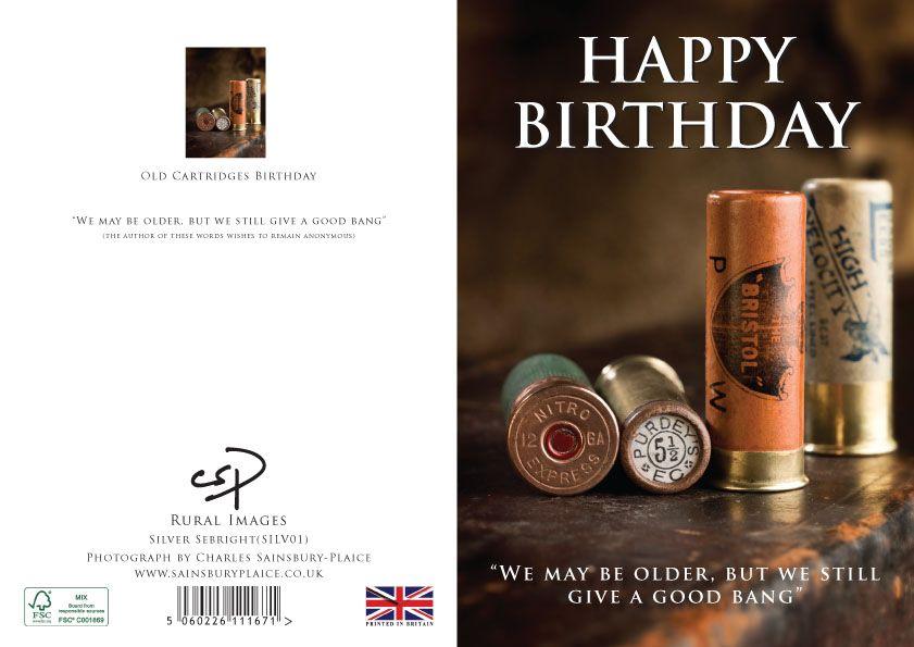 Shooting Birthday Card From Charles Sainsbury Plaice Shooting