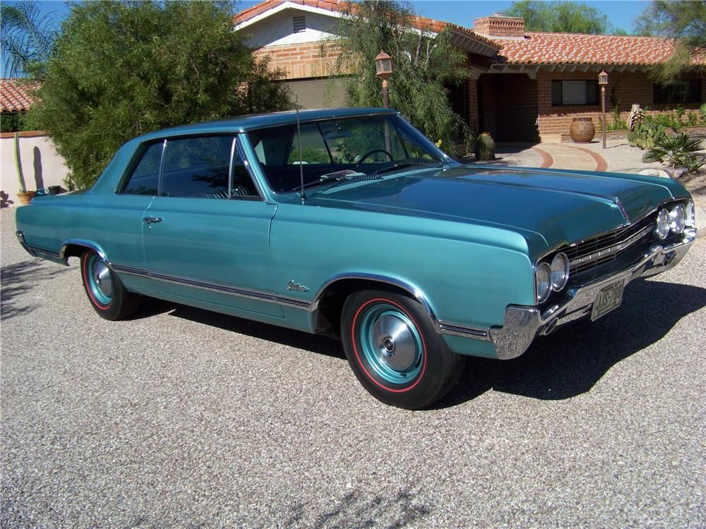 1965 OLDSMOBILE CUTLASS HOLIDAY 2 DOOR HARDTOP