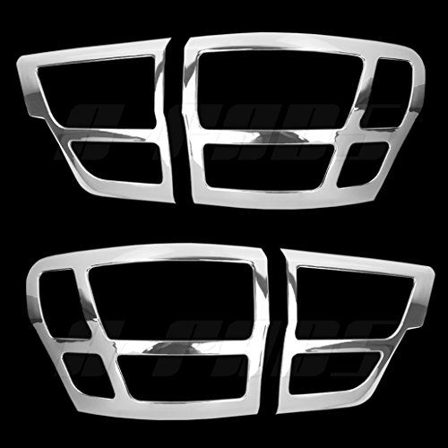 A Pads 2 Chrome Tail Light Covers For 2011 2012 2013 Jeep Grand