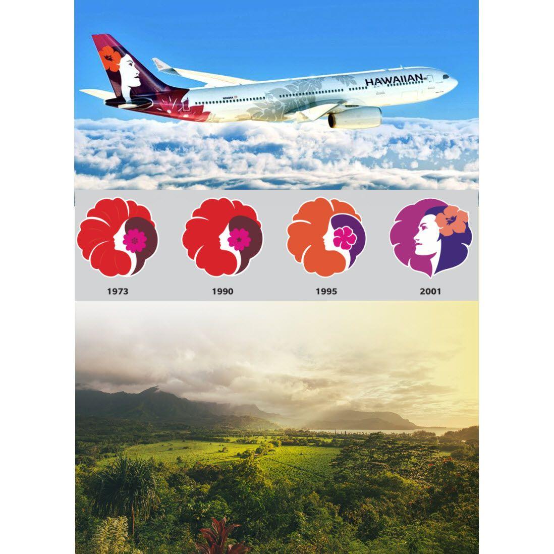 New Livery of Hawaiian Airlines! May 2017 Hawaiian