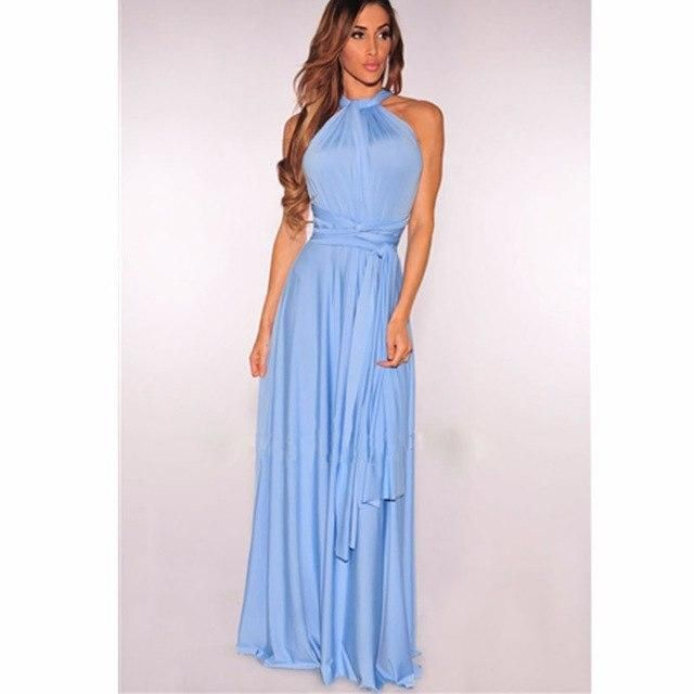 185f57fcda1dd NAME YOUR OWN PRICE -Women Maxi Dress Long Summer Multiway ...