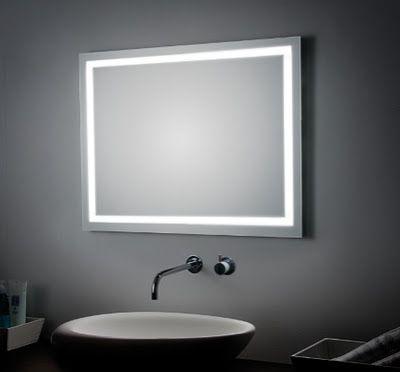 Espejos para baño Koh i Noor, espejos para el cuarto de baño, Tono ...