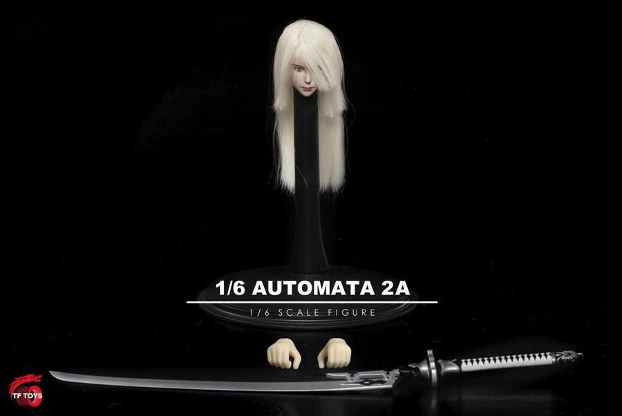 Phicen 10D Body Figure TF TOYS 1//6 Nier Automata 2B Head Accessories TF01//THF02