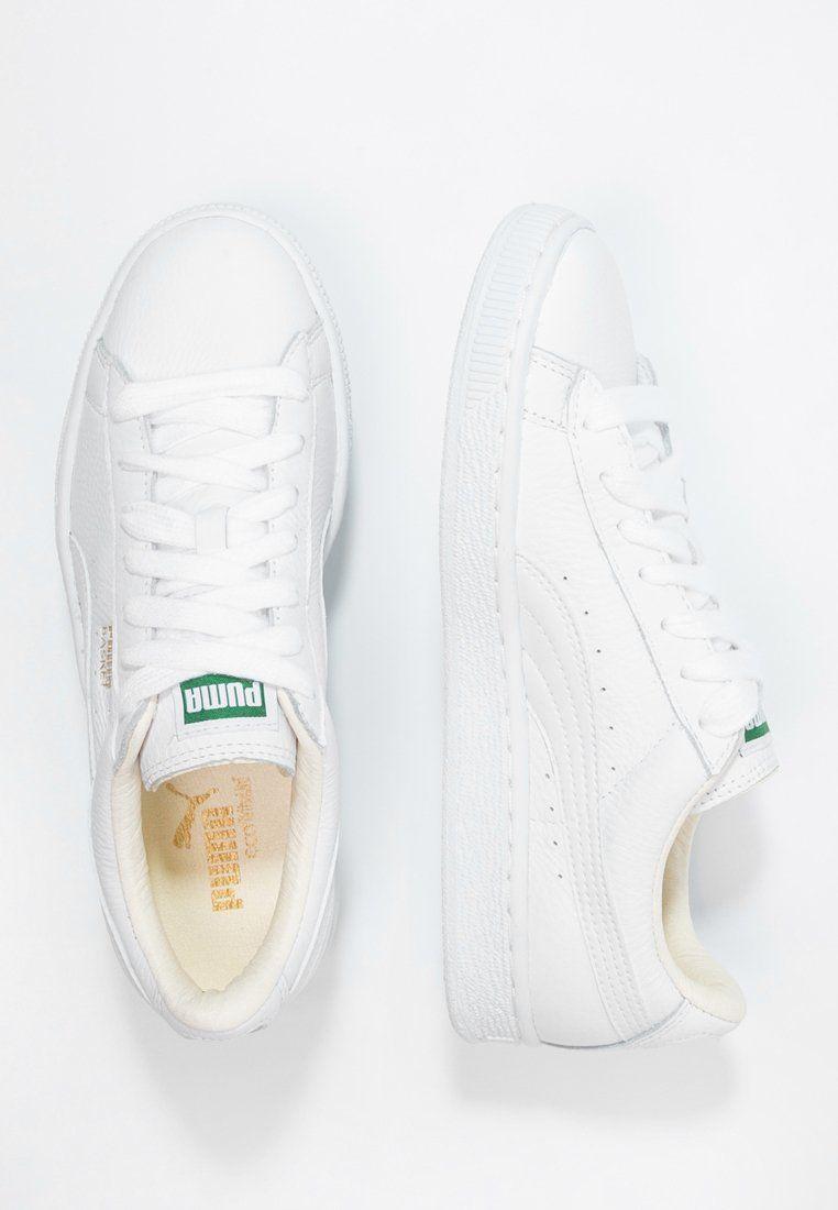40ee9966f63 BASKET CLASSIC - Sneakers - white @ Zalando.dk 🛒 in 2019   Style ...