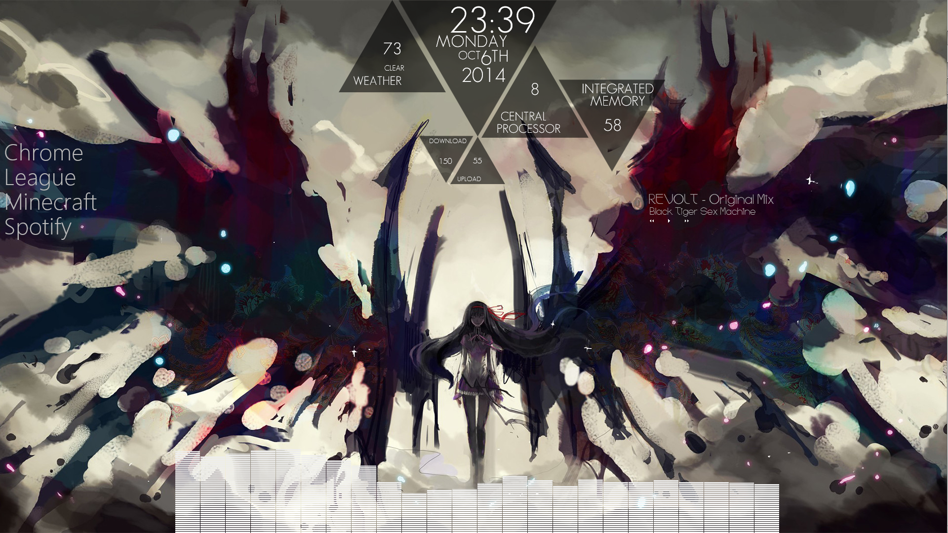 New Linux Visualizer Wallpaper Engine