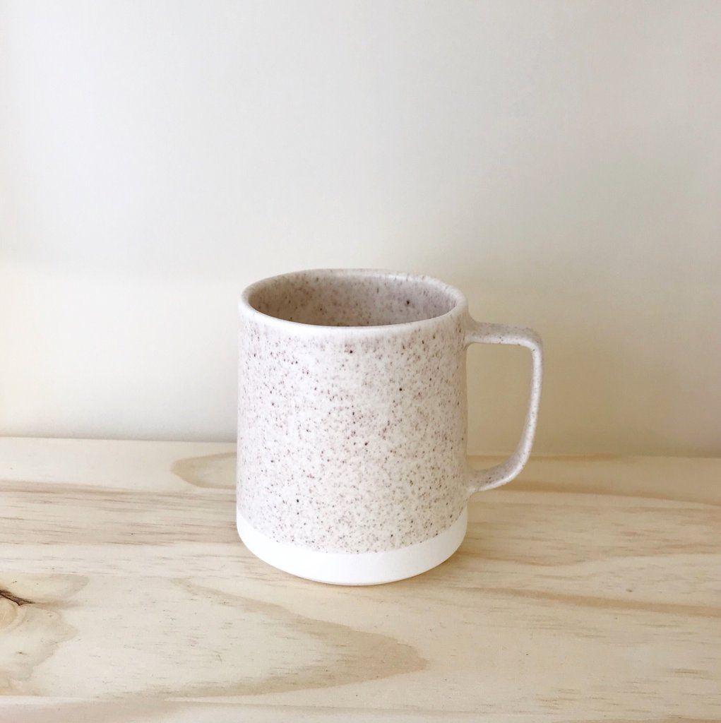 Speckled Glaze Modern Handmade Ceramic Coffee Mug The Danish Mug