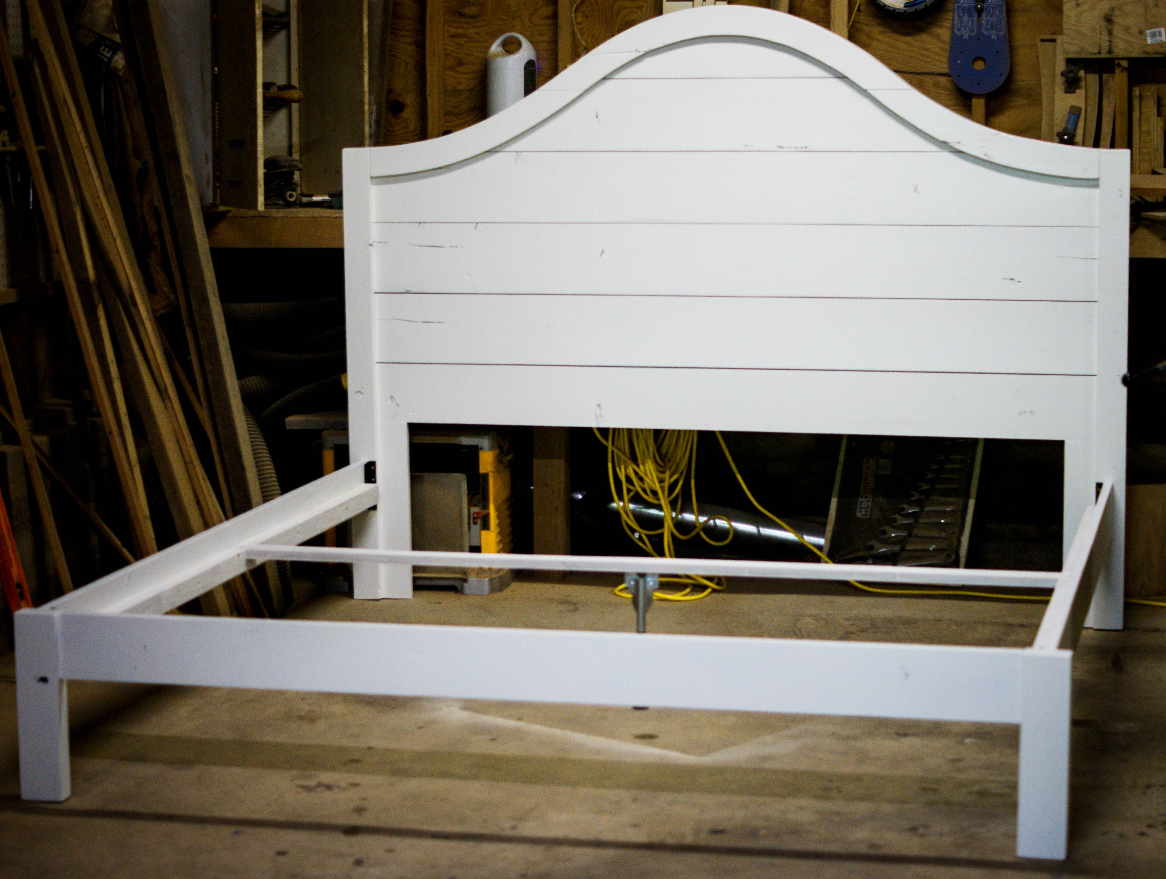 Shiplap Headboard Craftsman Home Decor Farmhouse