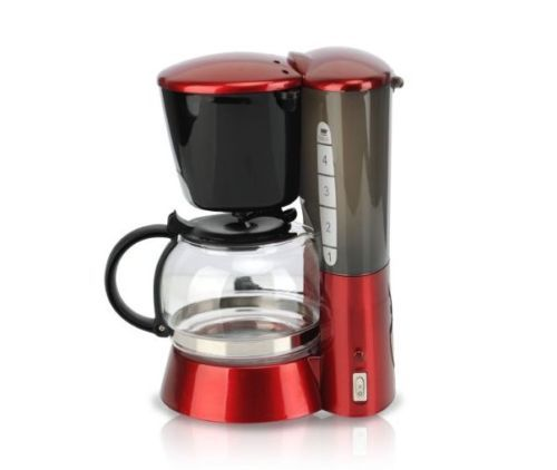 Switch Espresso Coffee Maker With Glass Carafe Permanent Filter Water Tank Red Coffee Maker Coffee Maker Coffee