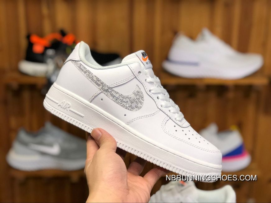 Nike Air Force 1 Just Do It Pack White AF1 AR7719 100 36 44