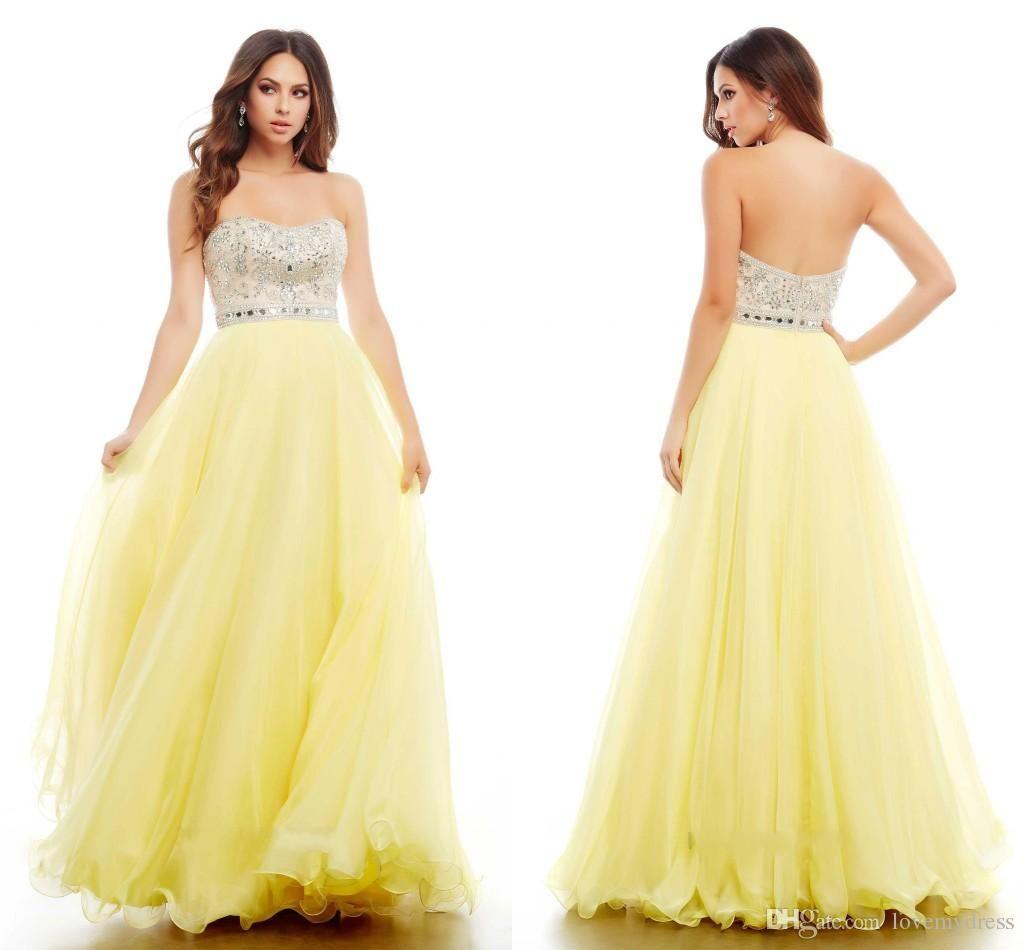 fashion aline prom dresses cheap long chiffon sequins beaded