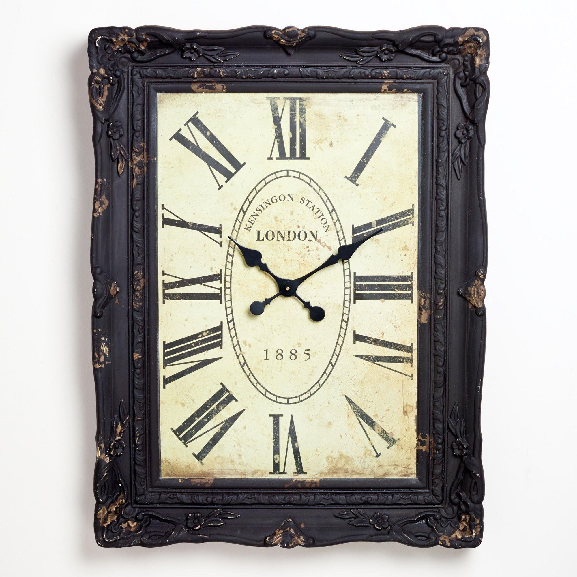 Pin By Ashley On Home Decor Now Or Later Wall Clock Clock Oversized Clocks