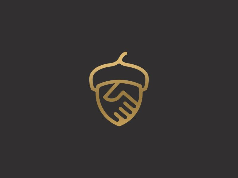 Lowcountry Land Trust Acorn Nature Logo Design Natural Logo Environmental Logo Design