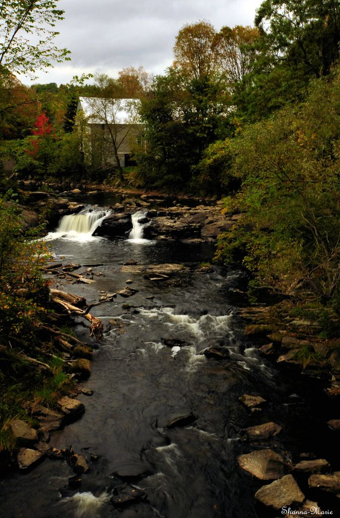 Wilson stream falls. Wilton