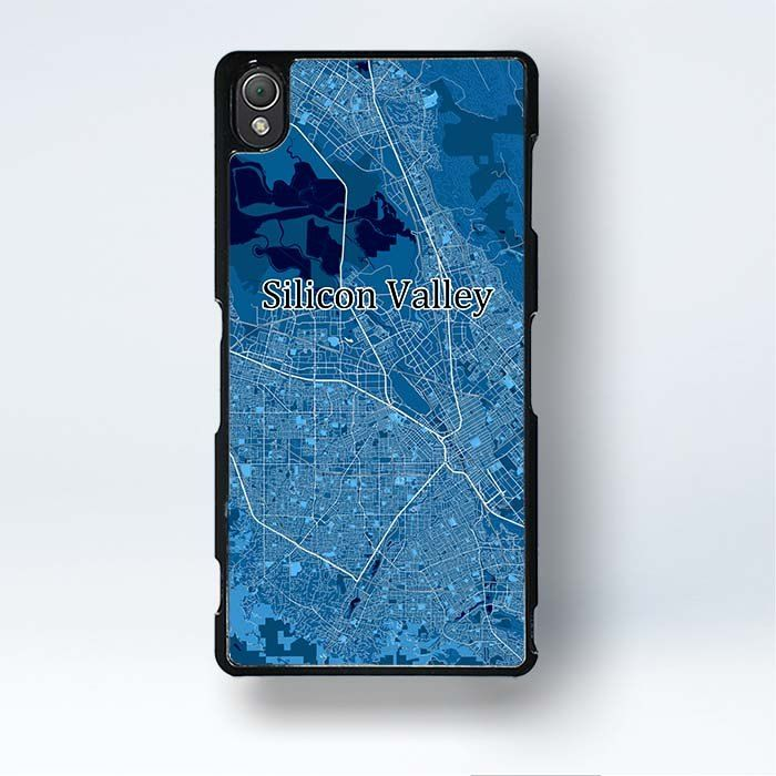 369c2c7cfd1 Xperia Z1 Silicon Valley Case Us Map Art Sony Xperia Z1 Covers  #entrepreneur #map #mapart #siliconvalley #startup #US #design #art #phone # case #mobile ...