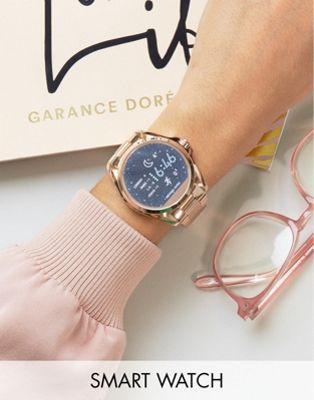 a488b66a7e5 Michael Kors MKT5004 Access Rose Gold Bradshaw Smart Watch ...