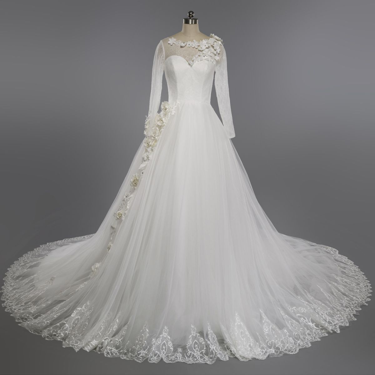 Wedding dressvintage wedding dressesmuslim wedding dresslong