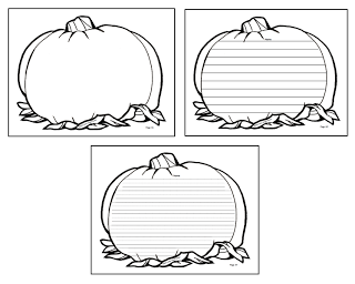 pumpkin template to write on  FREE sample writing templates.