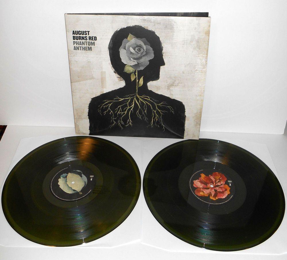 99c9c2c7702 AUGUST BURNS RED phantom anthem DOUBLE Lp GREEN VINYL Record ...