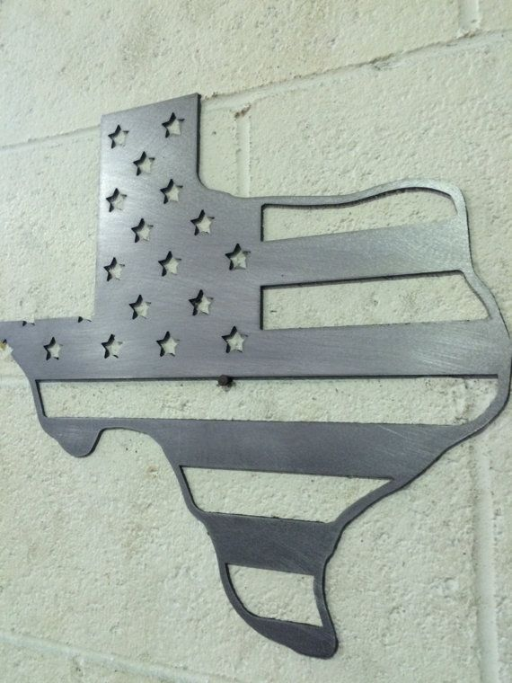 16 To 30 Texas State Stars Stripes Outline Flag Etsy Wall Signs Decor Metal Wall Art Hanging Art