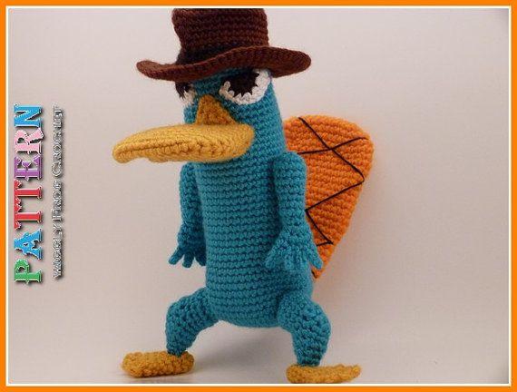 #41 – Amigurumi Perry el ornitorrinco, Phineas y Ferb (patrones) | Asesinato de cuervos