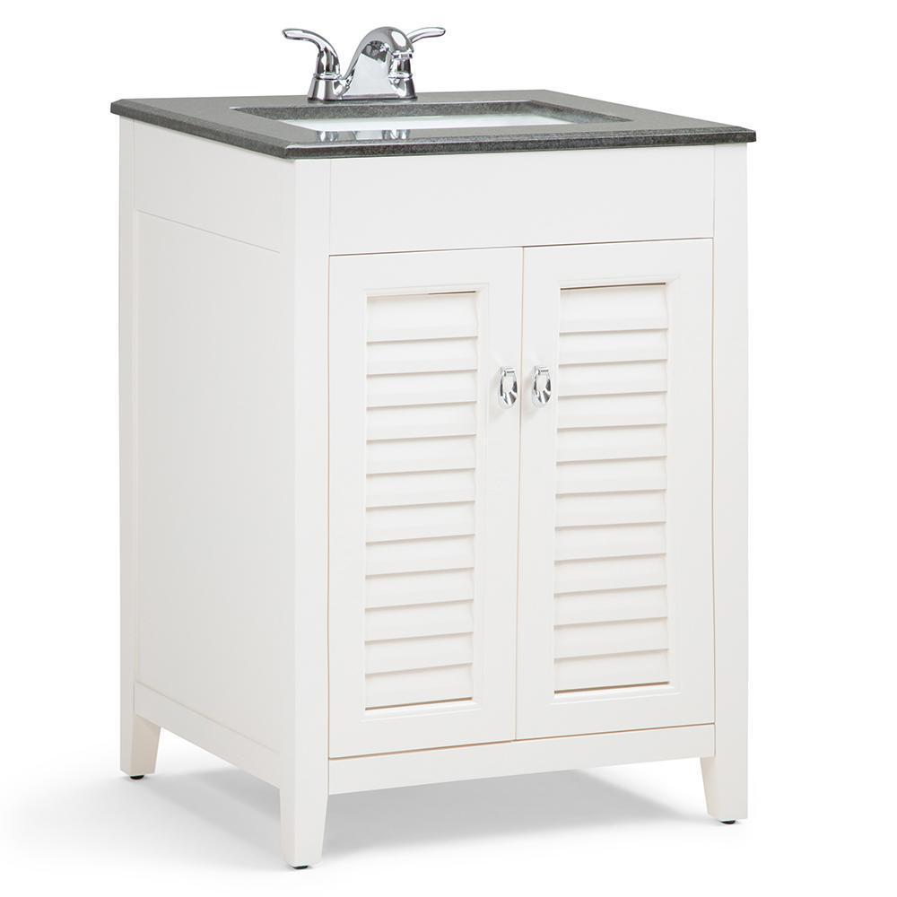 Adele inch bath vanity with black granite top also simpli home winston in    warm grey rh pinterest
