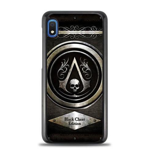 Assassins Creed Black Flag Logo Z0067 Samsung Galaxy A10e Case Assassin S Creed Black Assassins Creed Black Flag Black Flag Logo