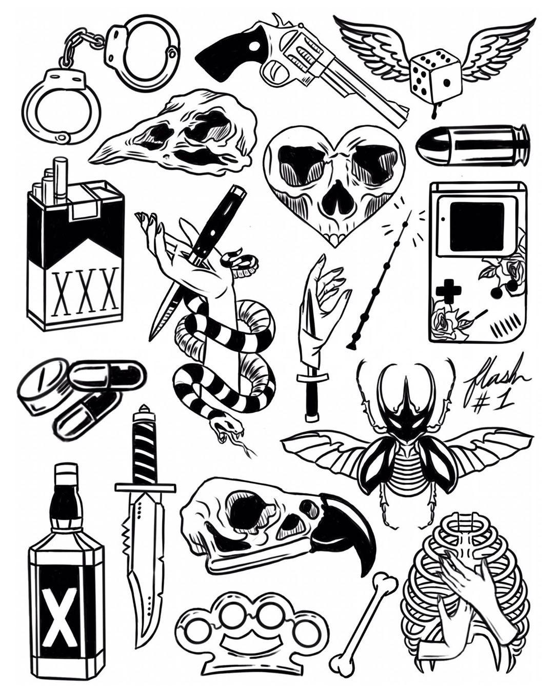 No Hay Descripcion De La Foto Disponible Tattoo Flash Art